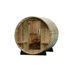 Fass-Sauna Audra zum Selbstbau