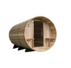 Fass-Sauna Weston zum Selbstbau