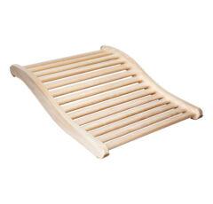 Ergonomische Rückenstütze aus Natur Espenholz