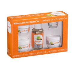 WellnessSet Sentio, 5 teilig, Grüner Tee