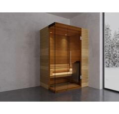 SAUNA KING Finn+Bio kombinierte Sauna Rhodos für 1-2 Personen
