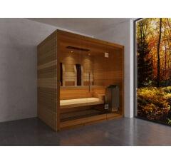 SAUNA KING Finn+Infra kombinierte Sauna Hawai für 2-3 Personen