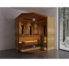 SAUNA KING SAUNA KING Finn+Infra kombinierte Sauna Mallorca für 3-4 Personen