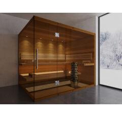 SAUNA KING Finn+Bio kombinierte Sauna Teneriffa für 4-5 Personen