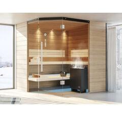 SAUNA KING  Finn+Bio kombinierte Sauna Mallorca für 3-4 Personen