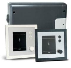 EOS szaunavezérlő EMOTEC H (Finn + Bi-O) antracit/ezüst vagy fehér/ezüst