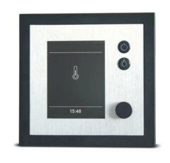EOS Saunasteuerung EMOTEC D (Finnisch) Anthrazit/Silber, Weiß/Silber, oder Anthrazit/Schwarz