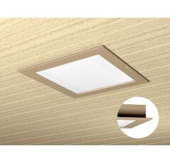 Collaxx fényterápiás készülék III.  (3,5x3,5m),  mennyezettel egysíkú kerettel (égerfa, hársfa, hemlok- vagy cirbolyafenyő)