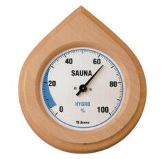 Finn Hygrometer in Naturholz Rame