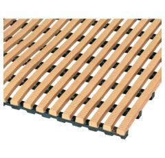 UV-beständiger Bodenrost für Innen und Aussen nach Maß, 75cm breit, in 2 Farben