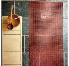 Kunststoff-Saunaläufer (Gittermatte) nach Maß, 80cm breit, in 8 Farben