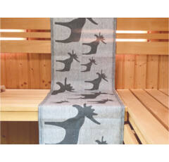Eredeti finn szauna törölköző Sauna motívummal