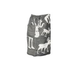 Férfi szauna-kilt jávorszarvas motívummal, 70x145 cm