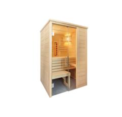 Kombinierte Sauna Relax Mini zum Selbstbau (Finn+Infra)