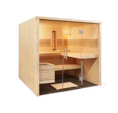 Kombinierte Sauna Mirador zum Selbstbau (Finn+Infra)