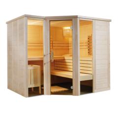 Kombinierte Sauna Relax Gross zum Selbstbau (Finn+Infra)
