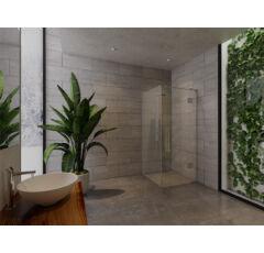 SAUNA KING Üveg zuhanykabin (90x90cm MA: 200cm) - 4 üvegszín választható