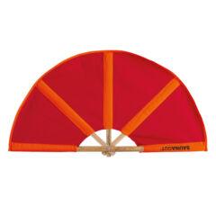Finnsa szaunalegyező KICSI (összecsukva 50cm, kinyitva 74cm) Piros/narancs színben