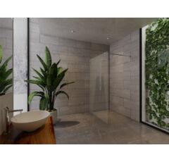 SAUNA KING Zuhanyfal üveg (SZÉ:120cm MA:200cm) 4 üvegszín választható