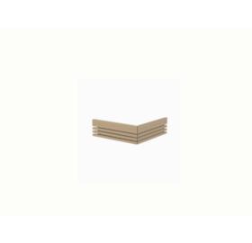 Sentiotec Holzreling, 2-seitig für Qube 240 Saunaofen
