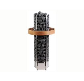 Ofenreling (Ofenschutz) aus Holz für Tower Heater Stehofen