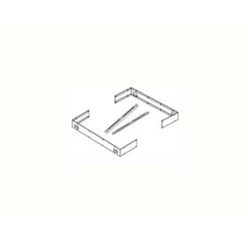 Sentiotec Halterungsset für Ofenreling (Concept R)