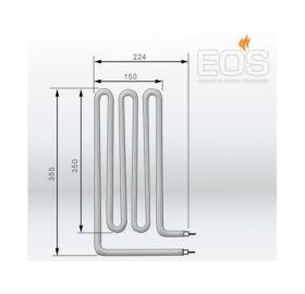 EOS Ersatzheizstab für Saunaöfen - 2000 W