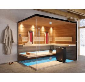 SAUNA KING Finn+Infra kombinierte Sauna Teneriffa für 4-5 Personen