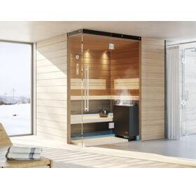SAUNA KING Finn+Bio kombinierte Sauna Rhodos für 3-4 Personen