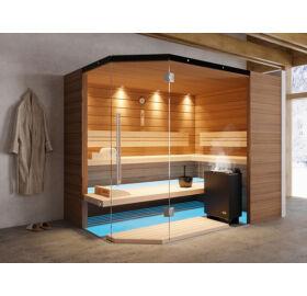 SAUNA KING Finn+Bio kombinierte Sauna Mallorca für 4-5 Personen