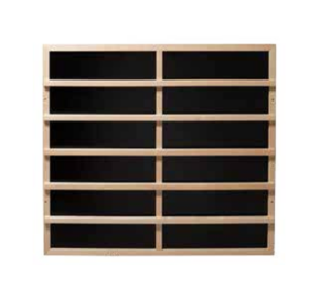 Infrarot-Wärmeplatten mit Holzgitter, 100w - 515w