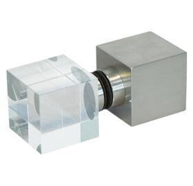 Dampfbad Würfelgriff Edelstahl-Glas