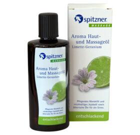 Haut- und Massageöl, Limette-Geranium, 190 ml