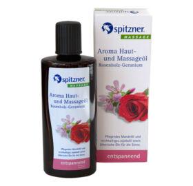 Haut- und Massageöl, Rosenholz-Geranium, 190 ml