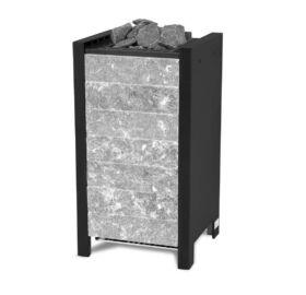 EOS Finn szaunakályha Stone S25, Fekete 7,5 kW - 9 kW (kő nélkül)