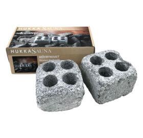 Dampfsteine mit Bohrungen (2 Stück im Karton)
