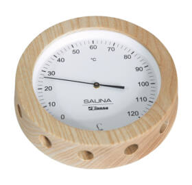 Thermometer in Holzrahme 150 mm Durchmesser