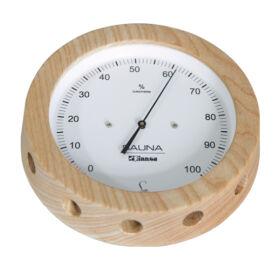 Páramérő fakeretben, 150 mm átmérő