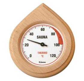 Finn hőmérő natúrfa keretben