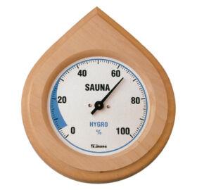 Finn Hygrometer in Naturholz Rahme