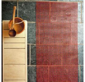 Kunststoff-Saunaläufer (Gittermatte) 10m Rolle, 100cm breit, in 8 Farben