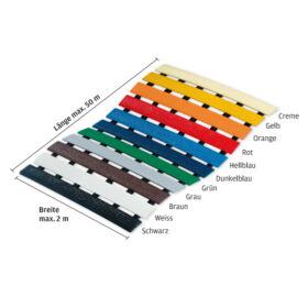 Higiéniai szőnyeg méretre, 11 színben