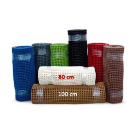Műanyag futó lábrács folyóméterre, 80 cm széles  - 8 színben