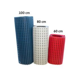 Higiénia PVC lábrács 60 cm széles, 5m hosszú, kék