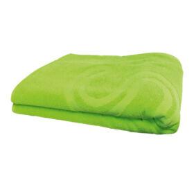 Szauna fekvő lepedő, kb. 70 x 200 cm, zöld