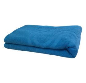 Szauna fekvő lepedő, kb. 70 x 200 cm, kék