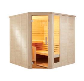 Finnsauna Komfort Corner Large zum Selbstbau (Innensauna)