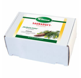 """SAUNA"" Duftbox, sortenrein, 24x15ml"