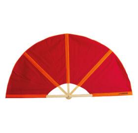 Finnsa szaunalegyező PLUS (összecsukva 104cm, kinyitva 148cm) Piros/narancs színben
