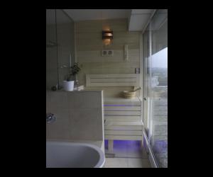 SAUNA KING Finn+Bio kombinierte Sauna Mallorca für 1-2 Personen